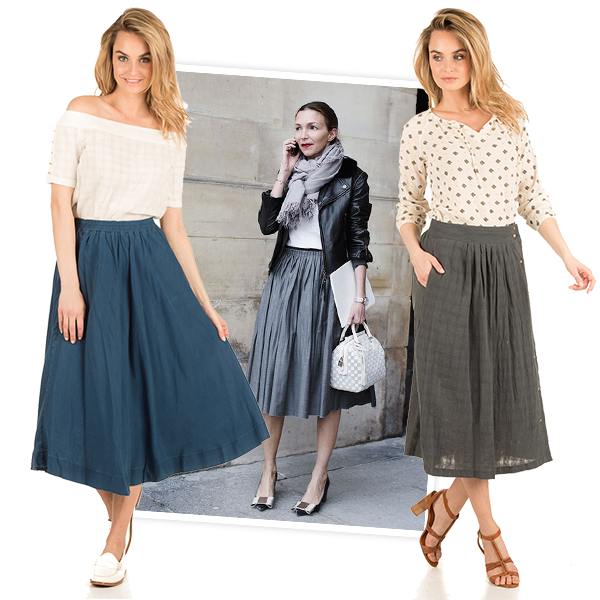 Populair How to wear: Hoe combineer je de midirok? - Little Soho @HF67