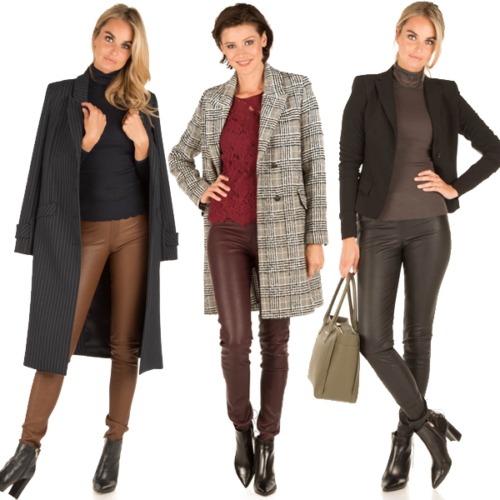 How to wear leather at the office? Little Soho