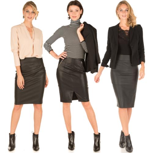 Iets Nieuws How to wear: Hoe combineer je leer naar je werk? - Little Soho &TM41