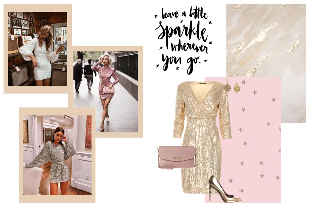 party-outfit-pailletten-jurk