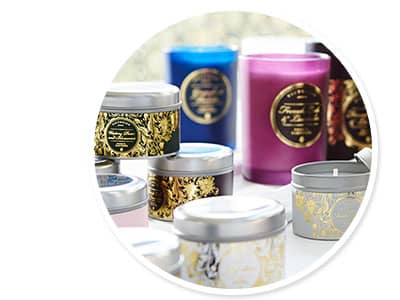 The new collection by Victorian Candles