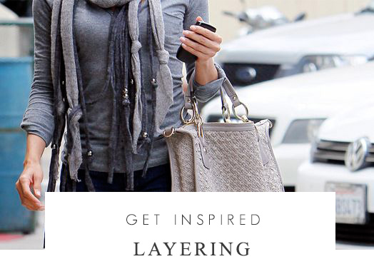 Get inspired - Layering