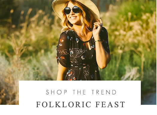 Shop the trend - Folkloric Feast