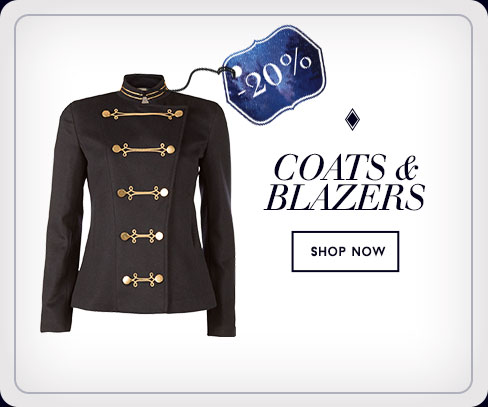 20% off - Coats & Blazers - Shop Now