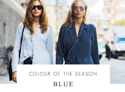 colour of the season blue