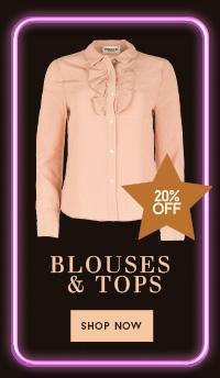20% op blouses tops