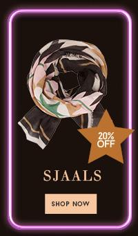 20% op sjaals