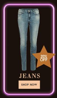 20% op jeans