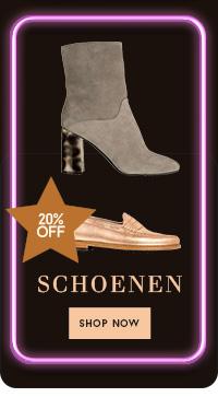 20% op schoenen