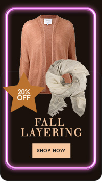 20% op fall layering
