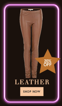 20% off leather