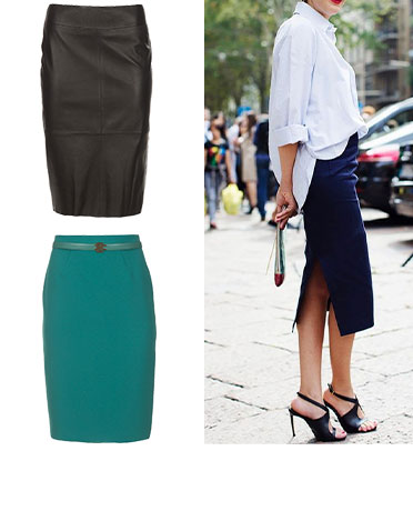 About the Pencil skirt