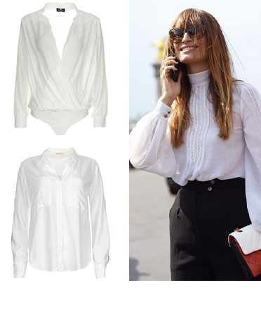 About the white blouse