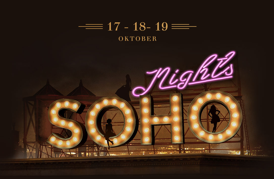 Save the date for Soho nights