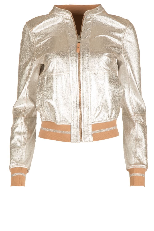 a87edf744c6a Reversible leather bomber jacket Sara