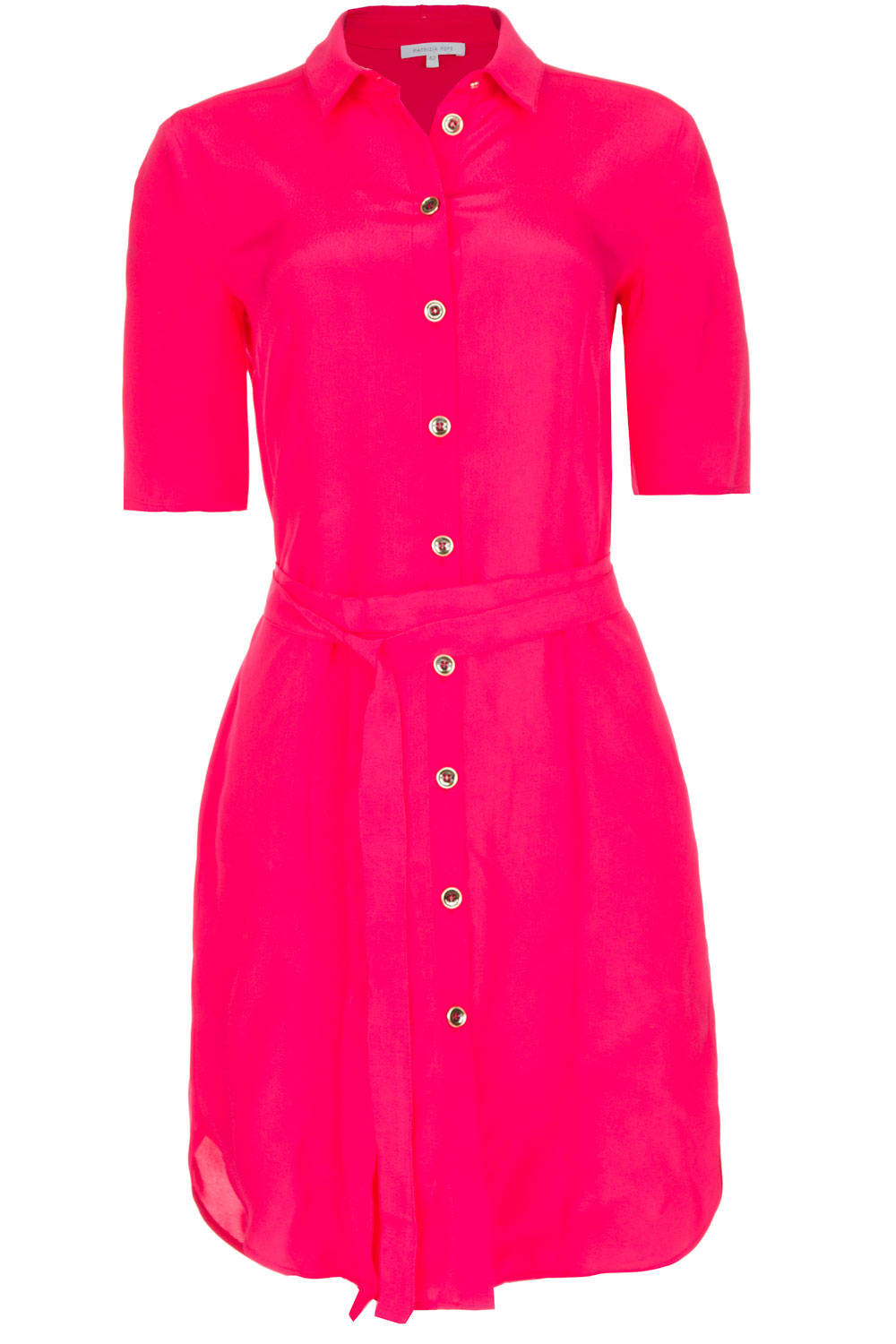 be2ef74d1532 100% viscose dress with collar Donna