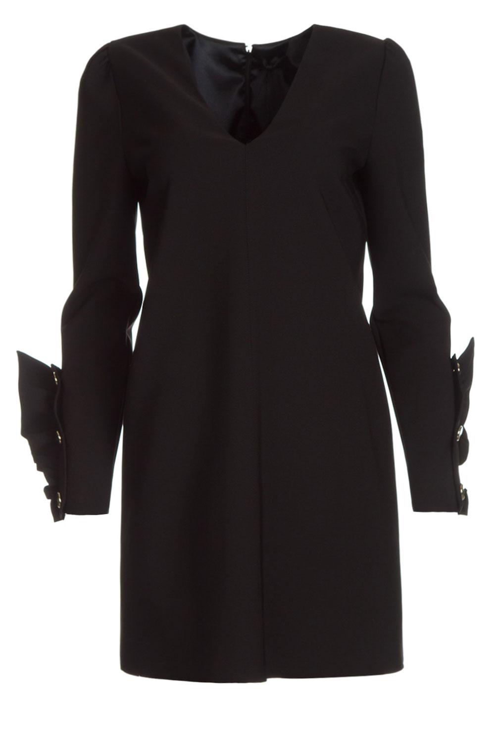 Verbazingwekkend Chique jurk Vitalia | zwart | ELISABETTA FRANCHI | Little Soho GH-57