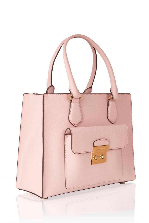 342040b2c60 ... MICHAEL Michael Kors | Leren tote tas Bridgette | oud roze | Afbeelding  ...