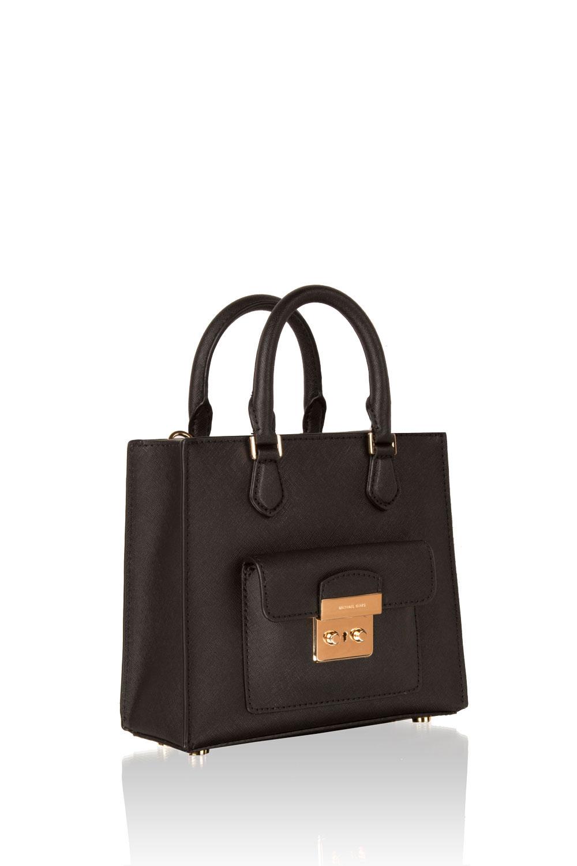 5e2952ec880c ... MICHAEL Michael Kors | Leather mini bag Bridgette | black | Picture 3  ...