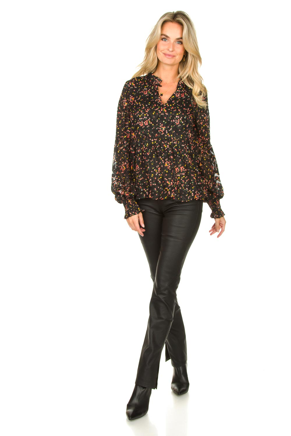 Look Floral printed blouse Maya