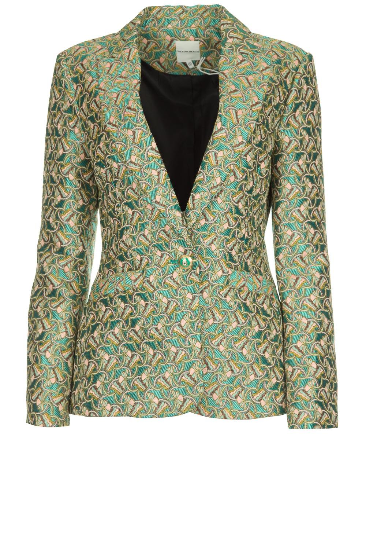 cheaper 92f4b 6f71c Printed blazer Prakan   green