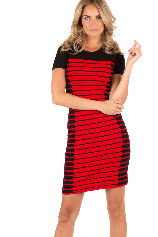 rood zwart jurkje