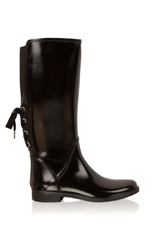 3b426bbfe76 Rainboots Larson | Black... | MICHAEL Michael Kors | Little Soho