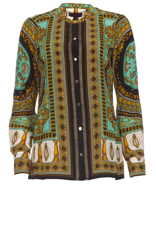 aed943b0b48aaf Silk blouse Ruby