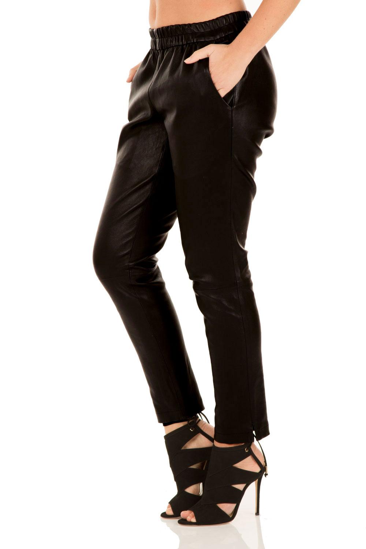 Wonderbaarlijk Leren broek Bobbi | zwart... | DNA | Little Soho VE-06