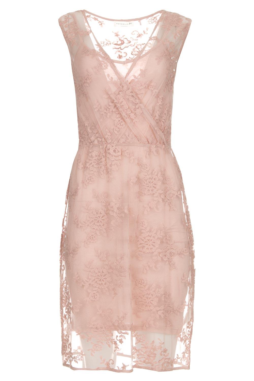 Wonderbaar Kanten jurk Emma | roze | Rosemunde | Little Soho SC-51