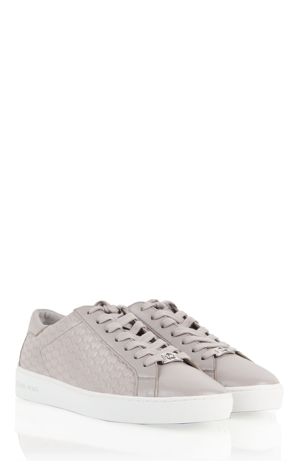 8880c1d5236 ... MICHAEL Michael Kors | Leather sneaker Colby | grey | Picture ...