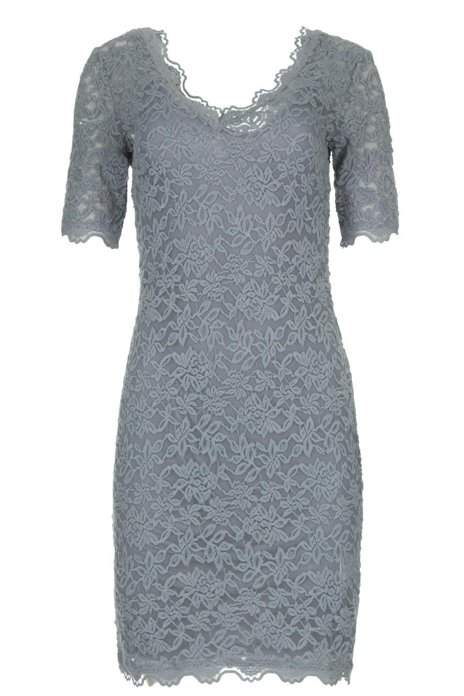 Wonderbaar Kanten jurk Louize   blauw   Rosemunde   Little Soho CI-34