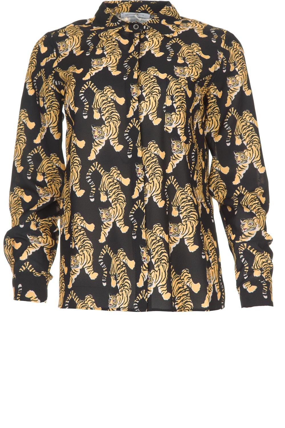 cheap for discount ac1cc 3c3c2 Blouse with print Capuanis   black