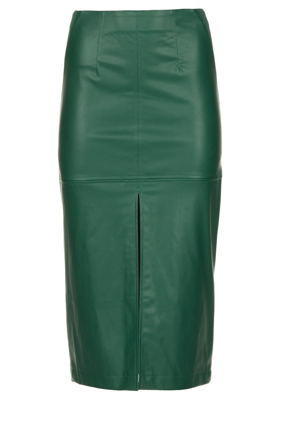 wholesale outlet discount coupon hot-selling authentic Faux leather pencil skirt Winonah | green
