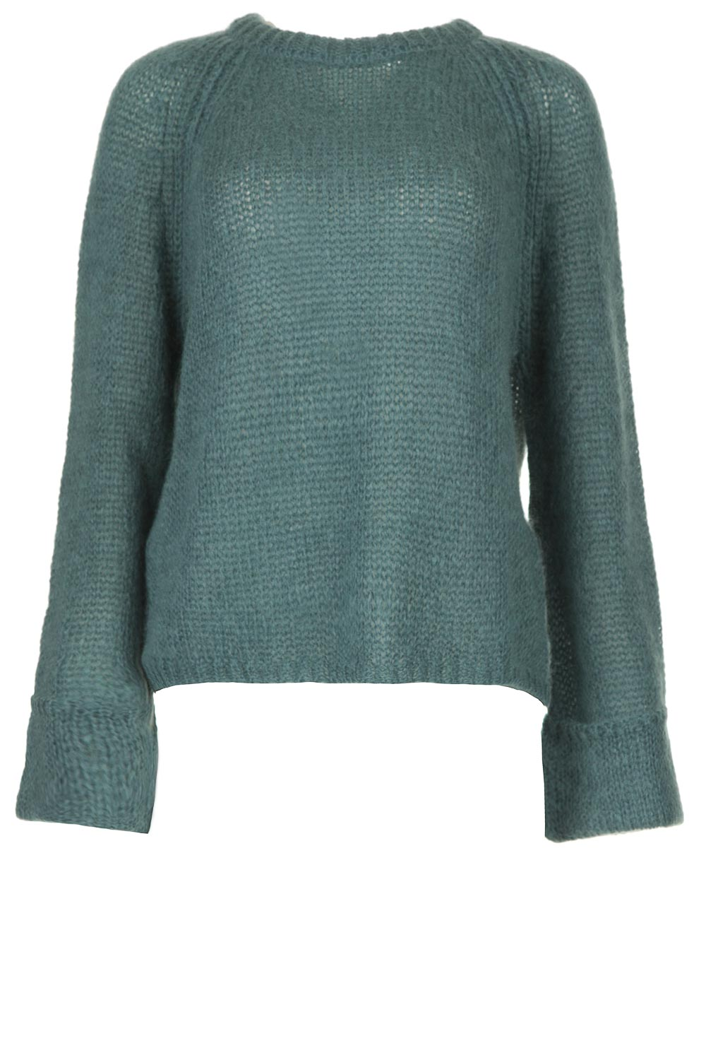 Knitted sweater Linda | blue | Knit ted | Little Soho