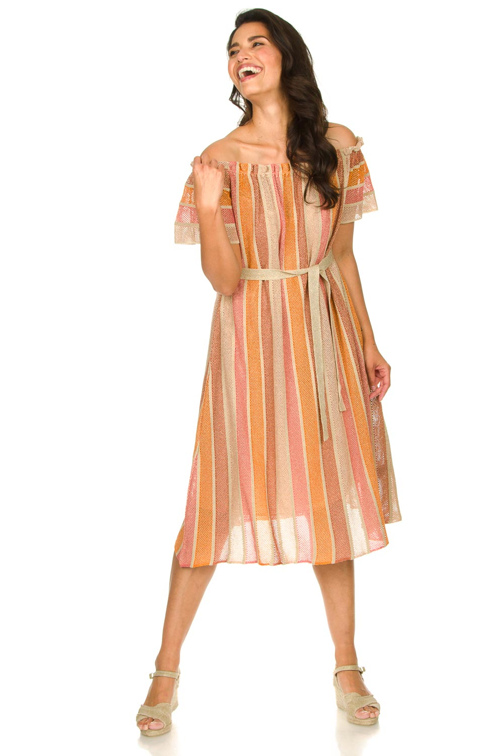 Look Off-shoulder maxi dress Bella Long