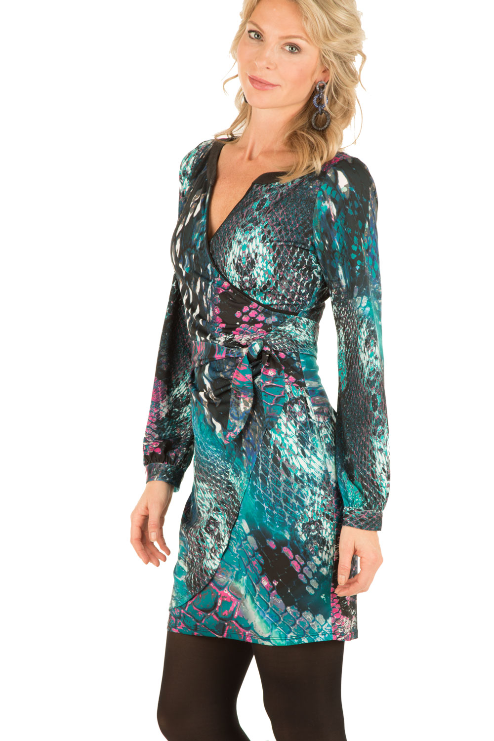 Jurk paulina multi hale bob little soho for Garderobe xl paulina