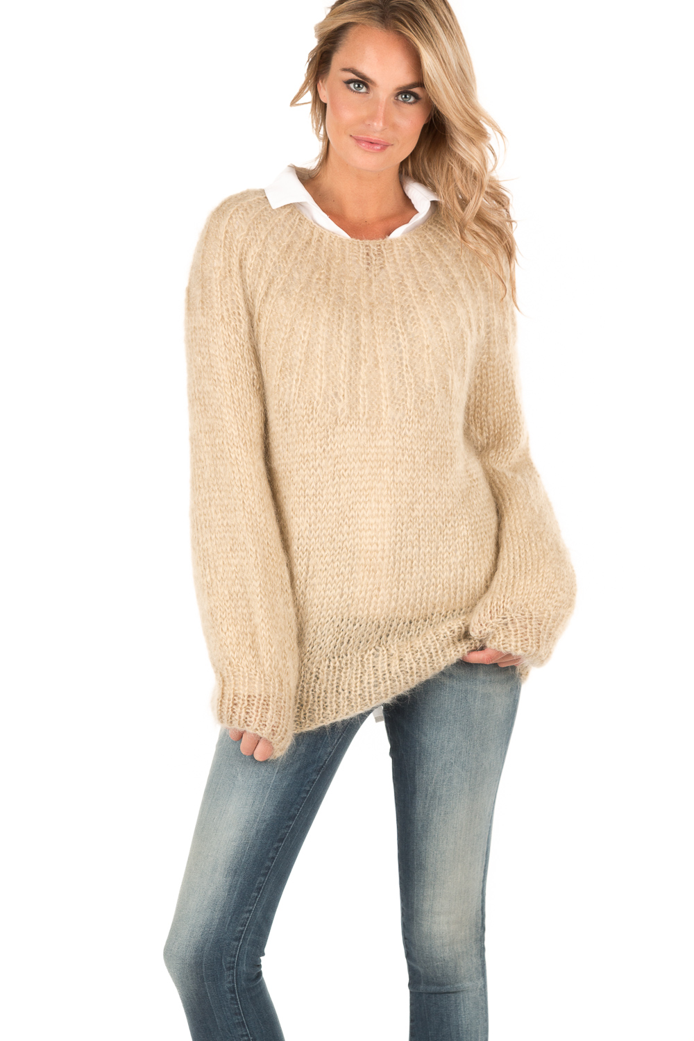 ff5813d17410 Knitted sweater Lueur