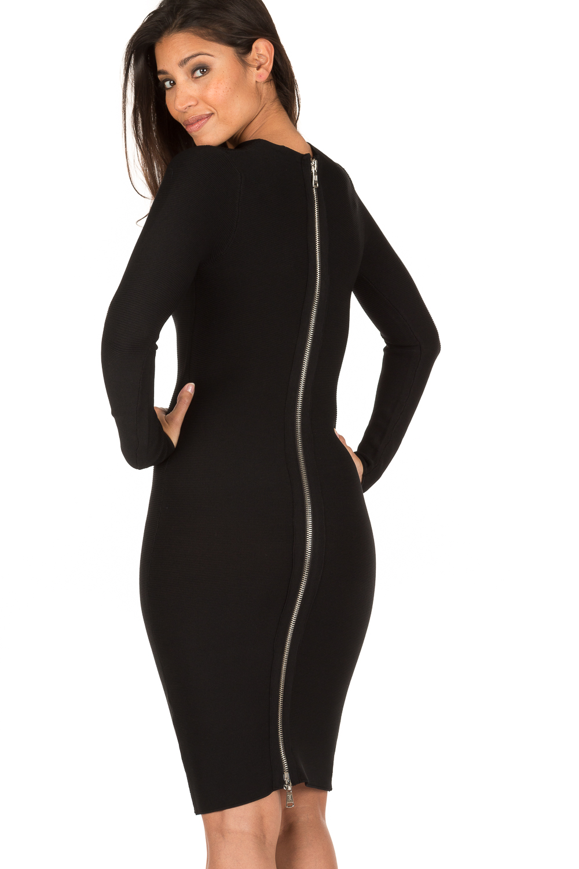 Zwarte jurk nikkie plessen