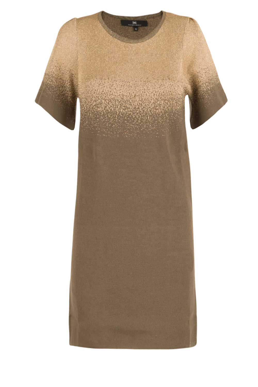 296431537dc ELISABETTA FRANCHI | Fine knitted tunic dress Jasmine | green | Picture ...