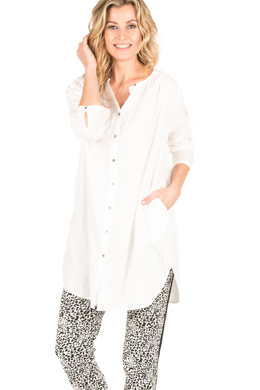 tuniek blouse wit