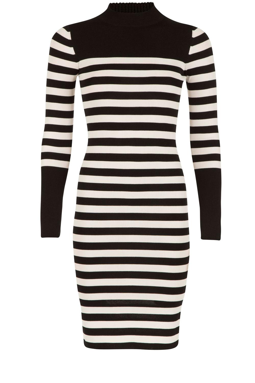 Zwart wit jurkje nikkie