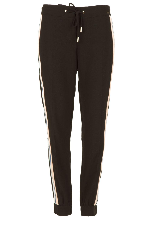 Pants for Women On Sale, Black, polyester, 2017, 10 26 28 Elisabetta Franchi