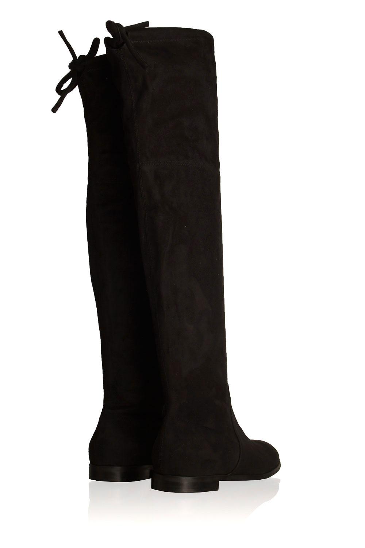 Faux suède laarzen Julie | zwart | Maluo | Little Soho