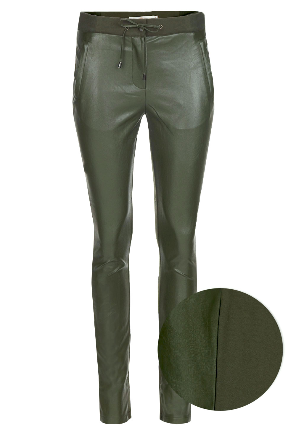 fake leather broek