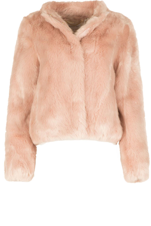 42bd7013d7d7 Faux fur coat Aaliyah
