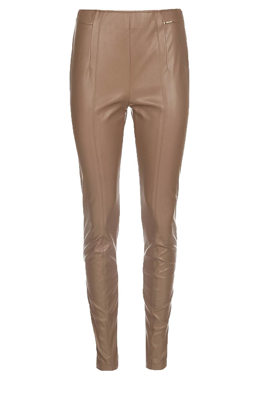 05dda465157 Faux leather pants Acadia | camel... | Patrizia Pepe | Little Soho