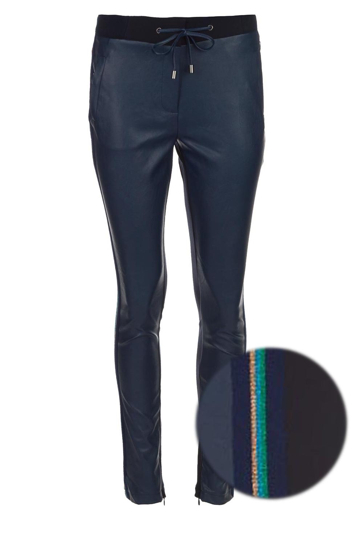 6ee4de6de09 Faux leather pants Sosa | blue... | Aaiko | Little Soho