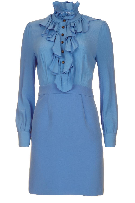 f66abdb5db933a Dress Curule | blue... | Atos Lombardini | Little Soho