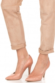 Noe | Leather pumps Nicole | nude  | Picture 3